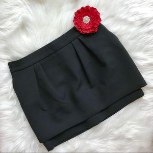 Maje Paris Black Layered Mini Short Skirt ❤️